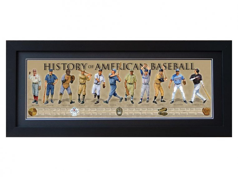 Framed Historical Prints by History America - 18