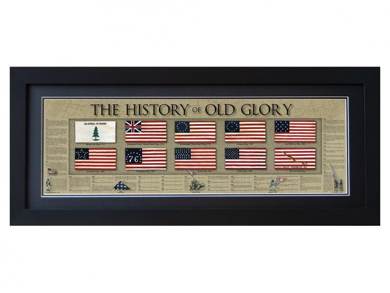 Framed Historical Prints by History America - 20