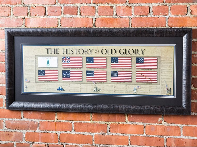 Framed Historical Prints by History America - 2