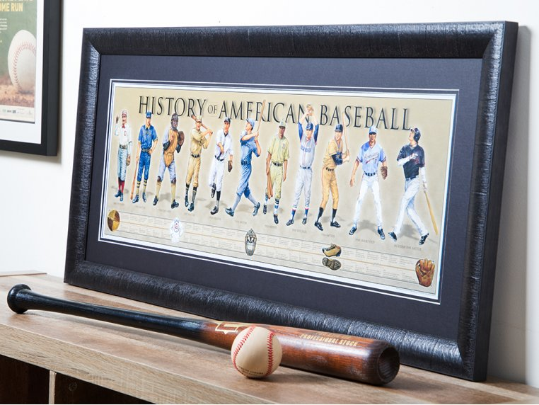 Framed Historical Prints by History America - 1