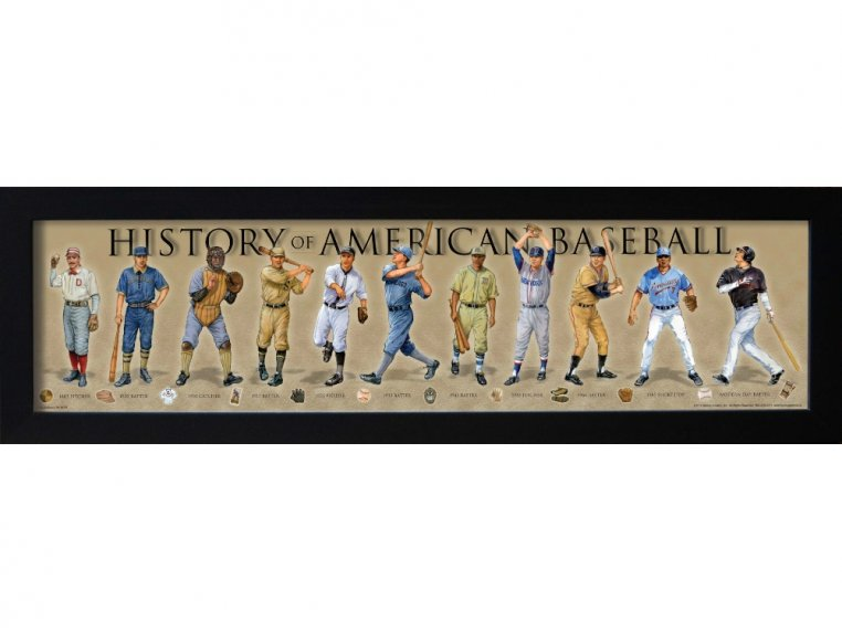 Framed Historical Prints by History America - 8