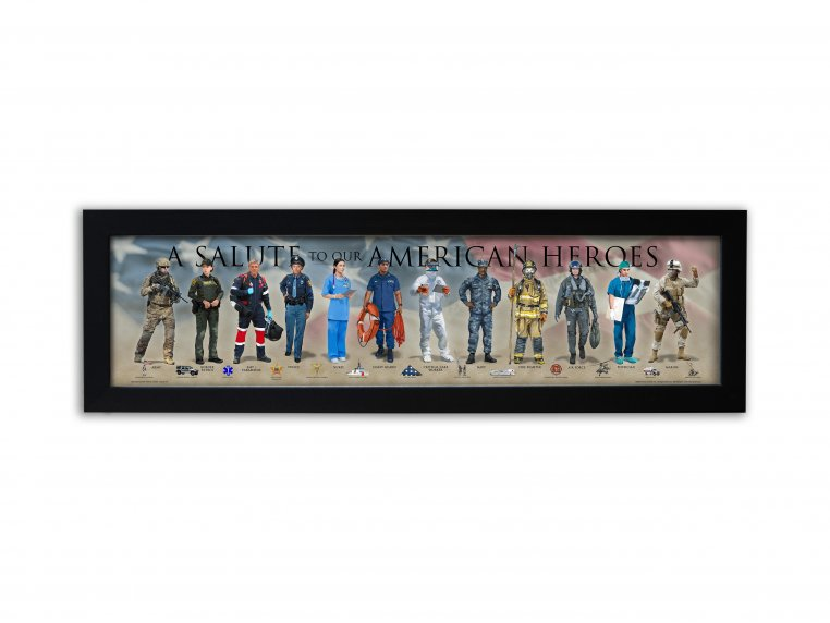Framed Historical Prints by History America - 21