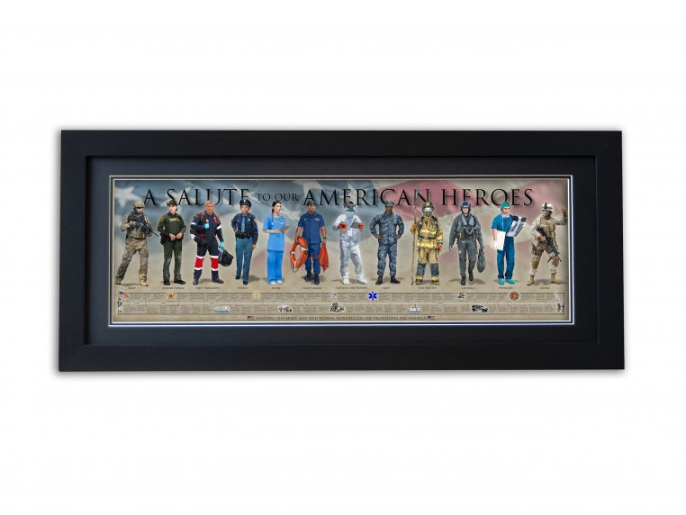 Framed Historical Prints by History America - 22
