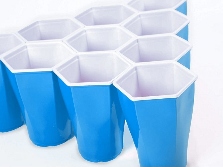 Hexagonal Beer Pong Game by Hexcup - 4