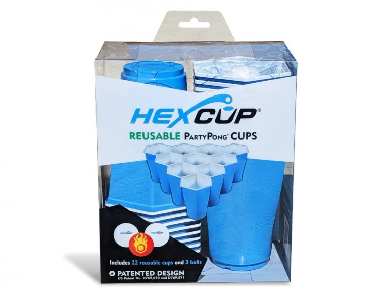Hexagonal Beer Pong Game by Hexcup - 5