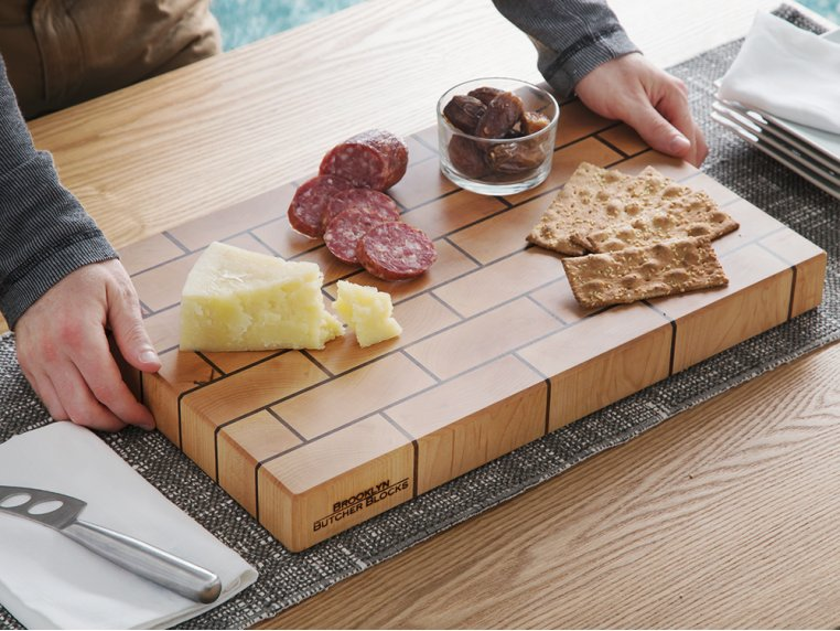 Brickwork End-Grain Cutting Board by Brooklyn Butcher Blocks - 2