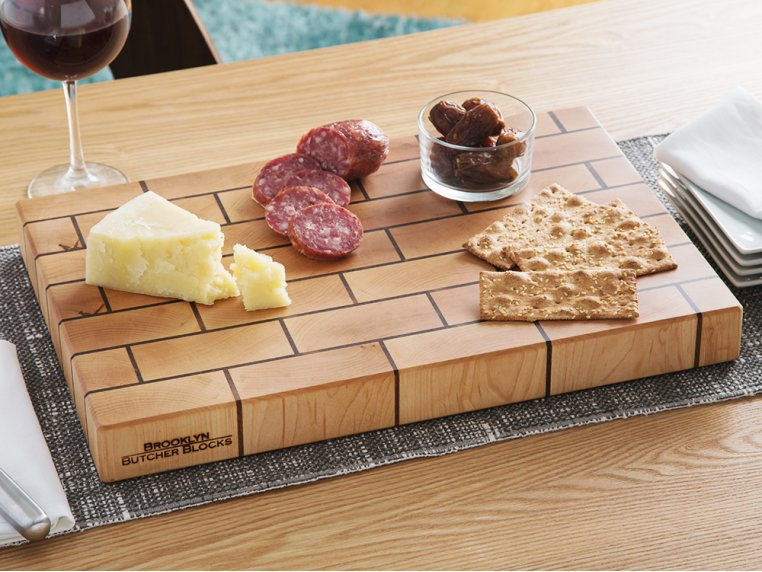 Brickwork End-Grain Cutting Board by Brooklyn Butcher Blocks - 1