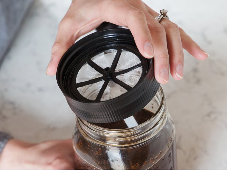 Cold Brew Mason Jar Filter by BRUW - 2