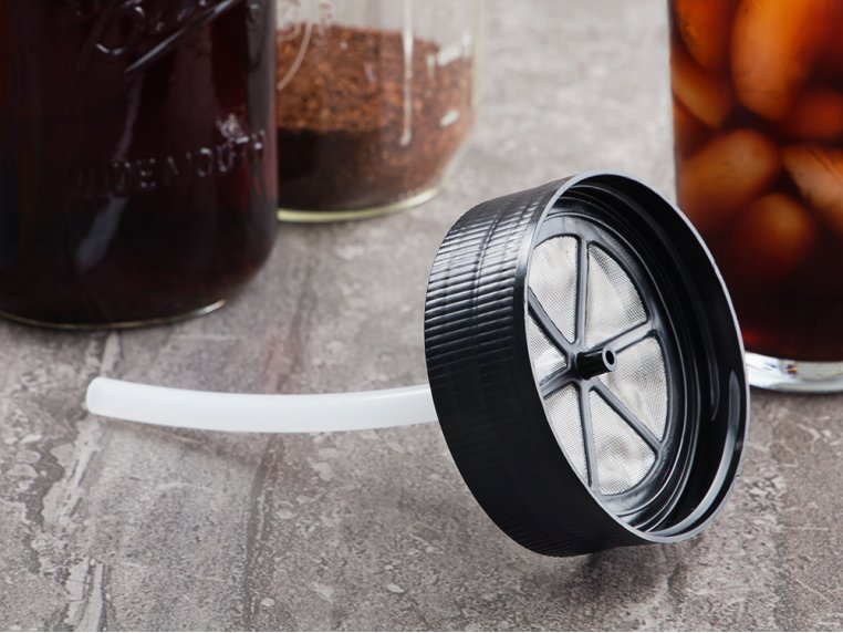 Cold Brew Mason Jar Filter by BRUW - 1