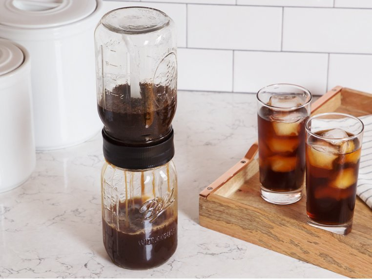 Cold Brew Mason Jar Starter Pack by BRUW - 2