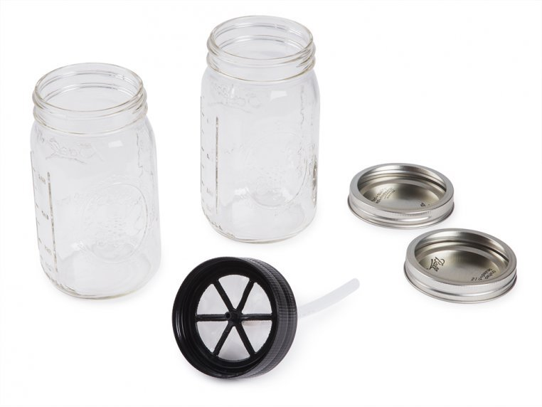 Cold Brew Mason Jar Starter Pack by BRUW - 4