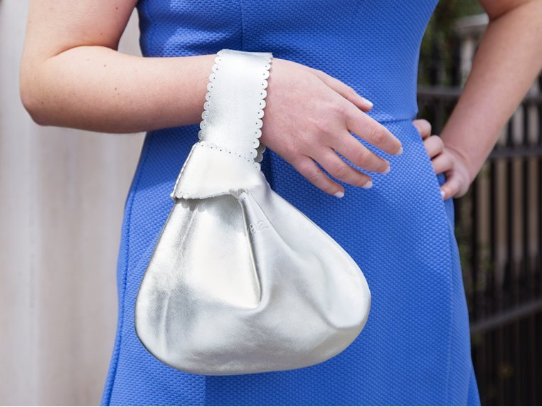 Handcrafted Leather Drop Bag by Rubyzaar - 2