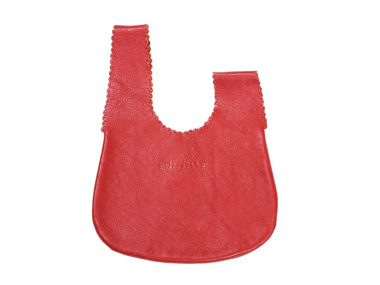Handcrafted Leather Drop Bag by Rubyzaar - 3
