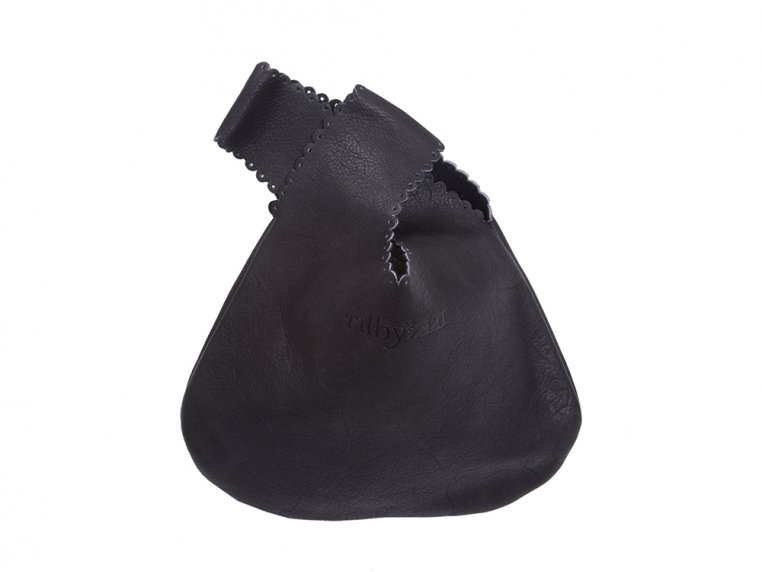 Handcrafted Leather Drop Bag by Rubyzaar - 4