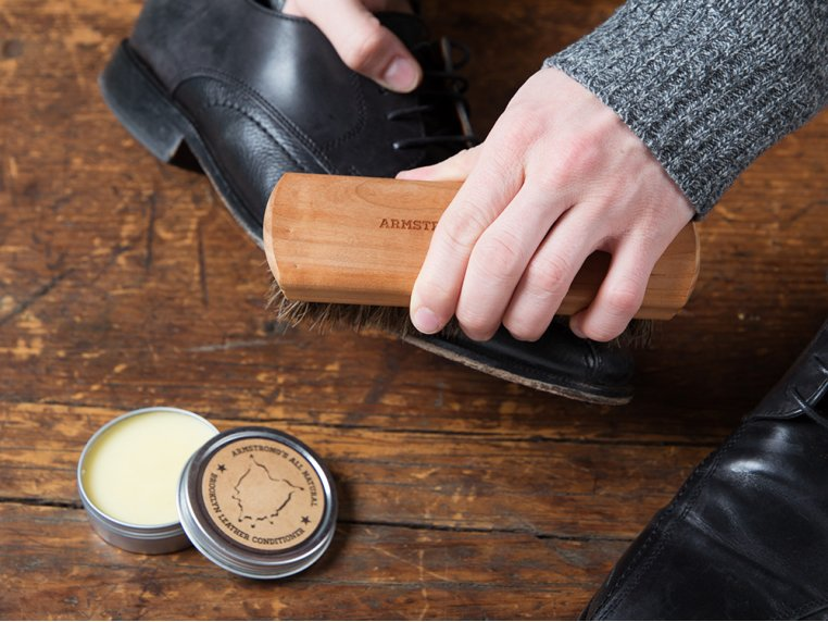 Leather Care Gift Set by Armstrong's All Natural - 2