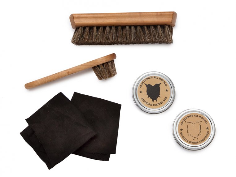 Leather Care Gift Set by Armstrong's All Natural - 4