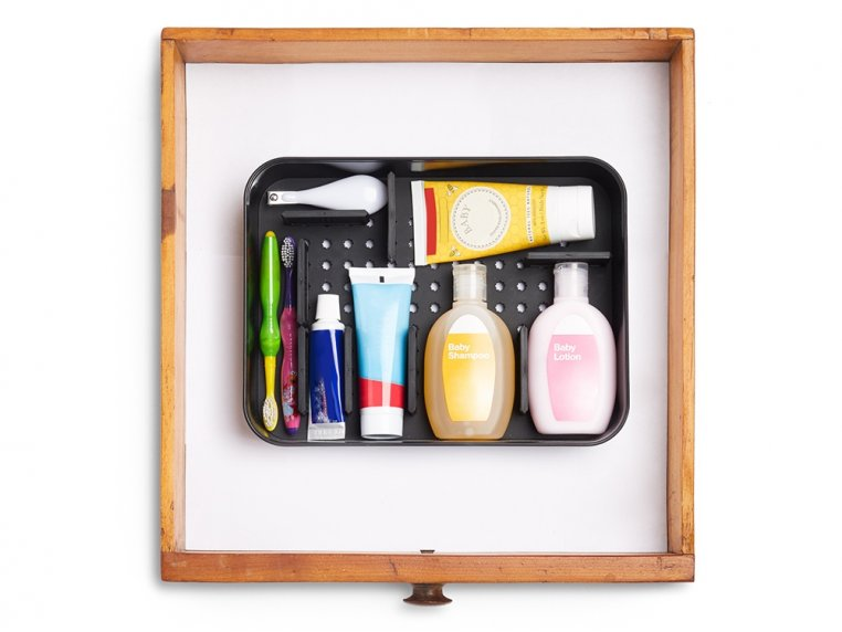 Adjustable Cosmetic Organizer by Poke-a-Dot - 5