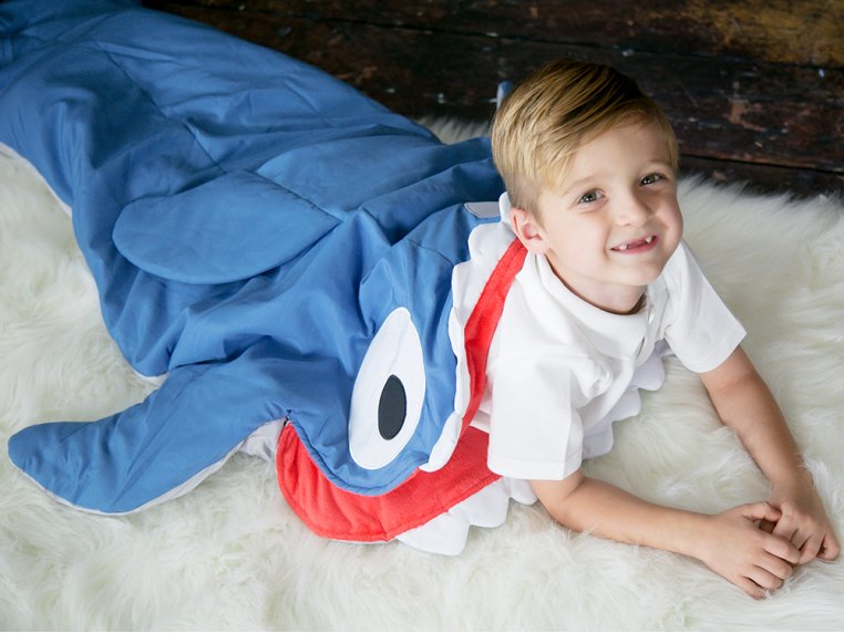 Kid's Ocean Tail Blanket by Twinklette - 2