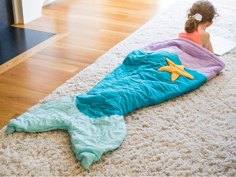 Kid's Ocean Tail Blanket by Twinklette - 1