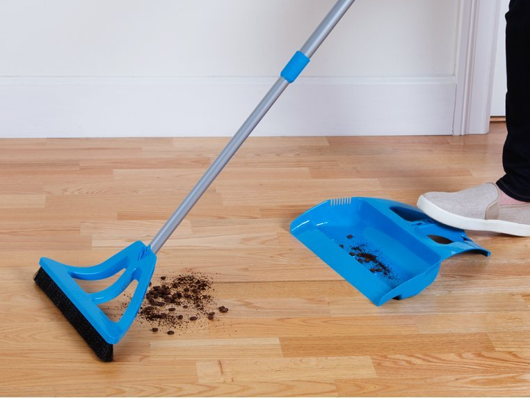 One-Handed Broom and Mini Broom Set by WISP - 2