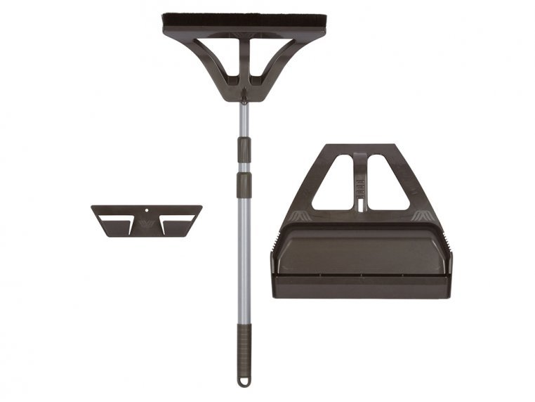 One-Handed Broom and Dustpan Set by WISP - 5