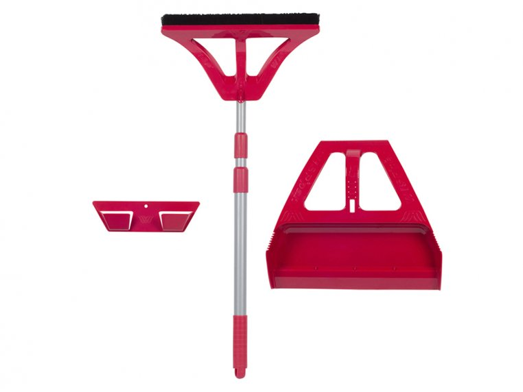 One-Handed Broom and Dustpan Set by WISP - 6