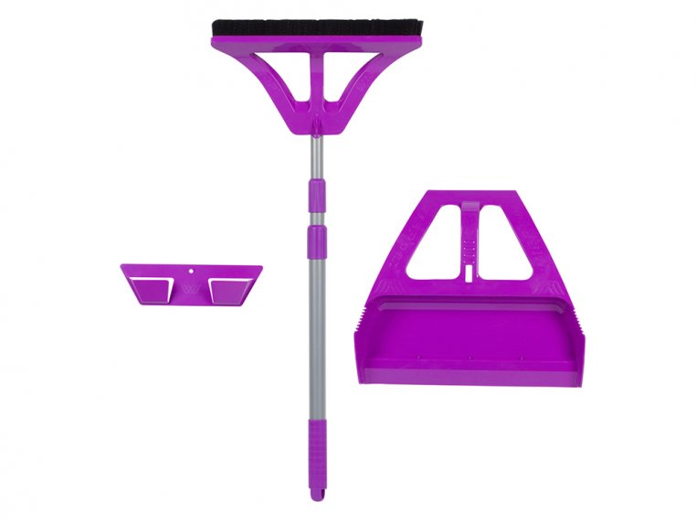 One-Handed Broom and Dustpan Set by WISP - 7