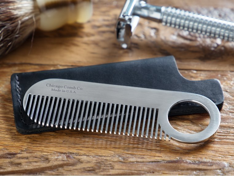Comb Model No. 2 & Sheath by Chicago Comb Co. - 1