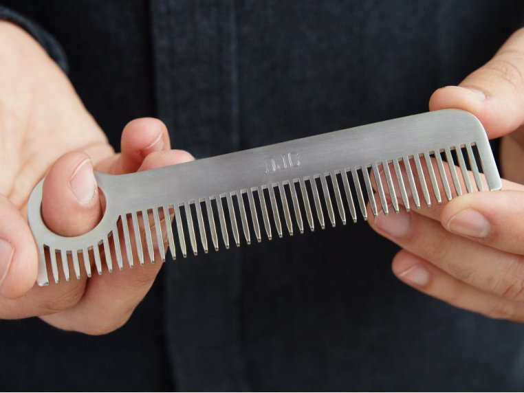 Model No. 1 Stainless Steel Comb by Chicago Comb Co. - 1