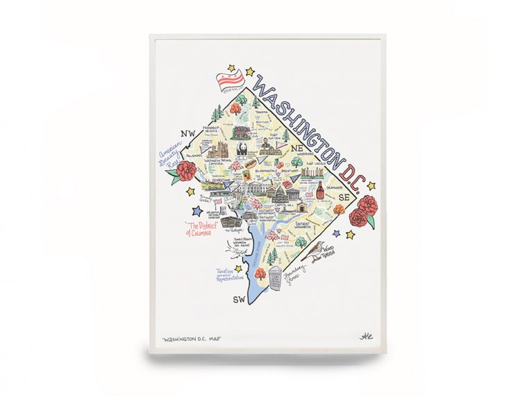 State Map Print by Fish Kiss - 9