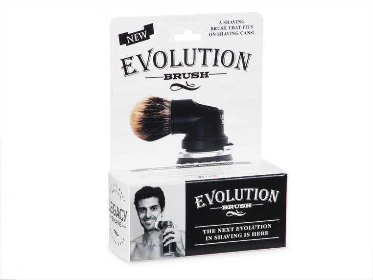 The Evolution Shaving Can Brush by Legacy Shave - 6