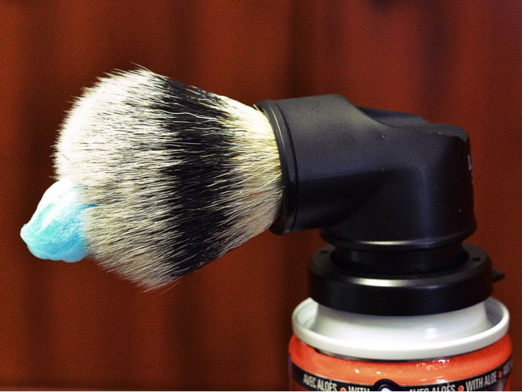 The Evolution Shaving Can Brush by Legacy Shave - 3
