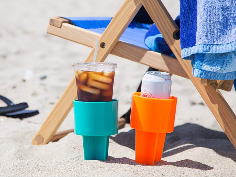 Sand Drink Holders Set of 4 by Spiker - 2