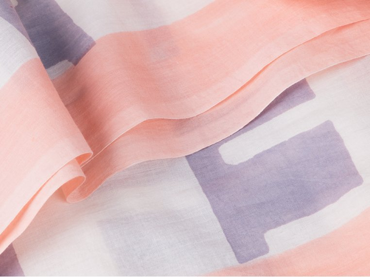 Block Print Scarf by INK + ALLOY - 2