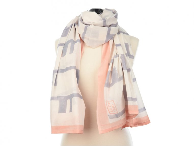 Block Print Scarf by INK + ALLOY - 4