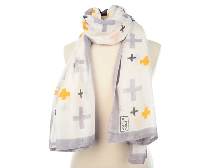 Block Print Scarf by INK + ALLOY - 5