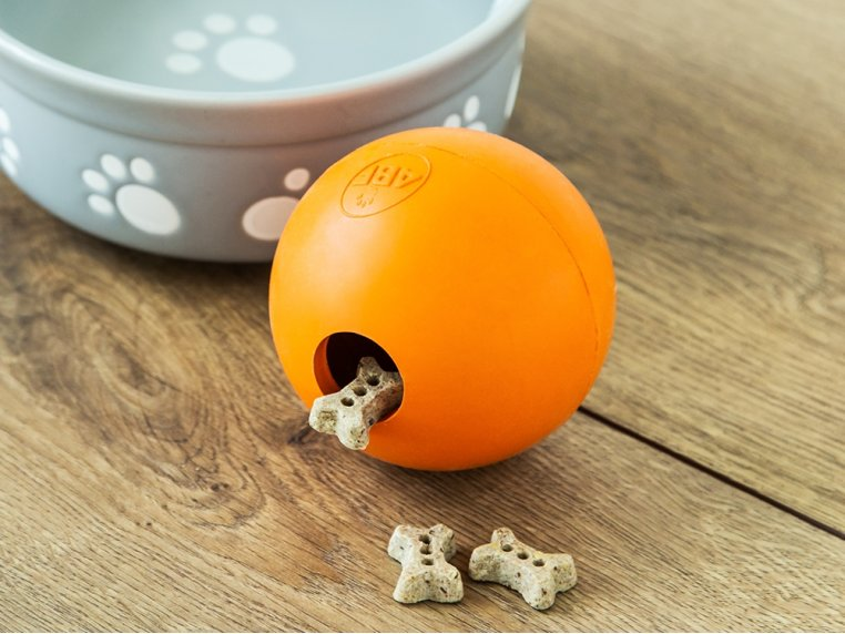Natural Rubber Fillable Ball by 4BF - 1