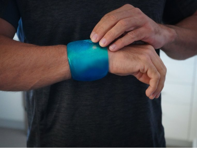 Small Roll On Reusable Cold Pack