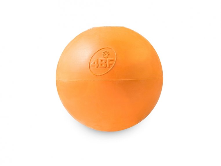 Natural Rubber Fillable Ball by 4BF - 5