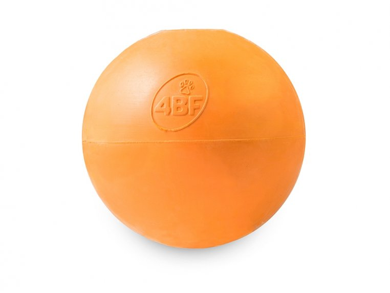 Natural Rubber Fillable Ball - Large (45-75 lbs) by 4BF - 1