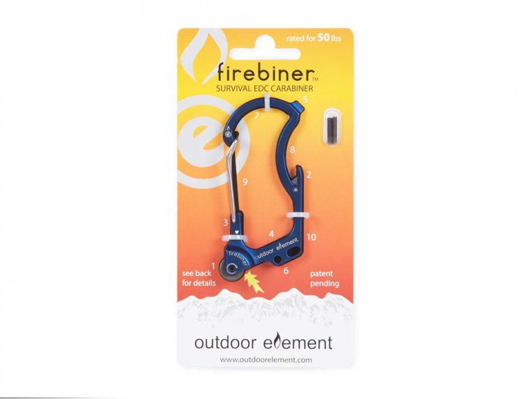 Flint Multi-Tool Carabiner by Outdoor Element - 8