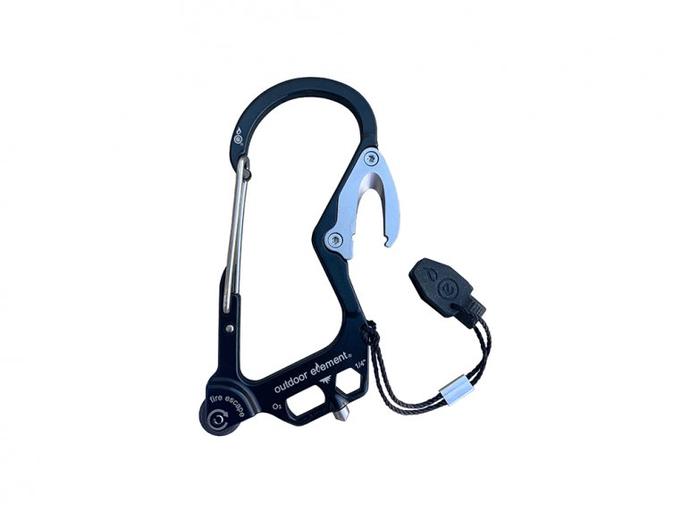 Fire Escape Multi-Tool Carabiner by Outdoor Element - 8