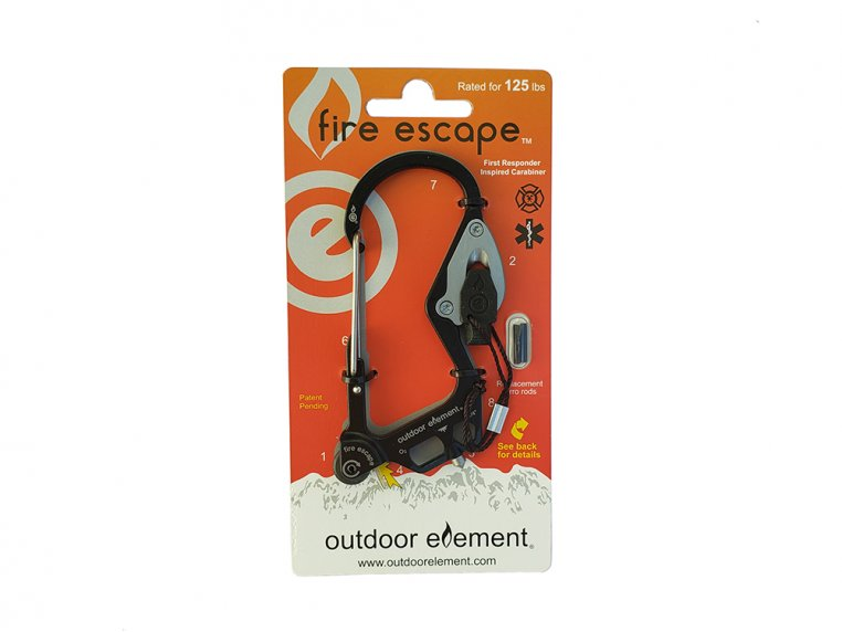 Fire Escape Multi-Tool Carabiner by Outdoor Element - 6