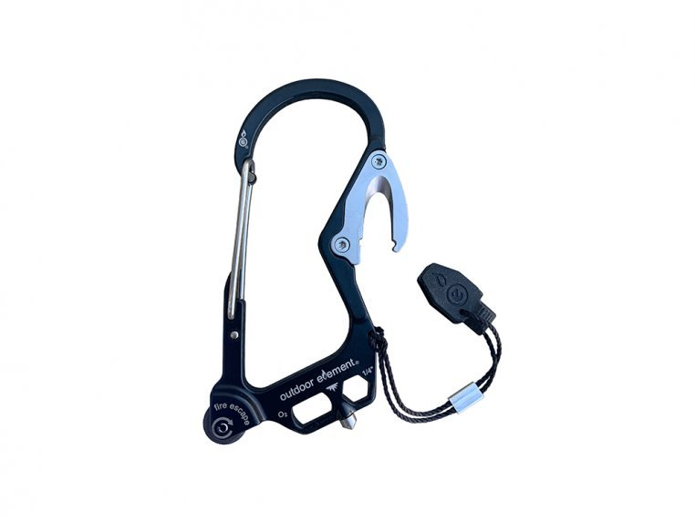 Fire Escape Multi-Tool Carabiner by Outdoor Element - 10