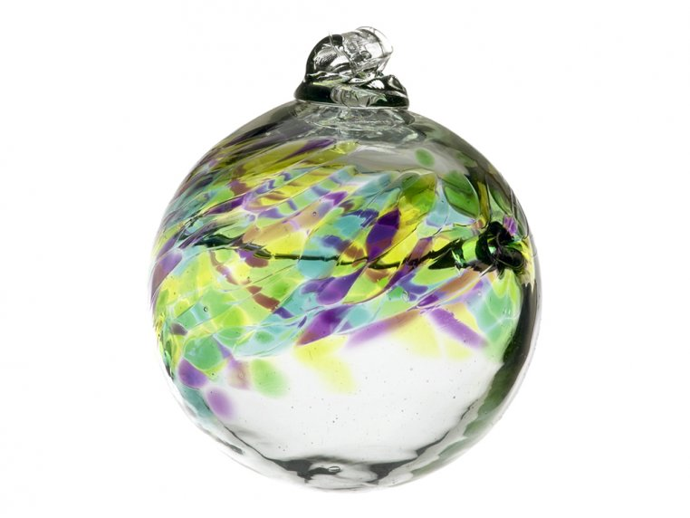 Birthstone Ornament by Kitras Art Glass - 10