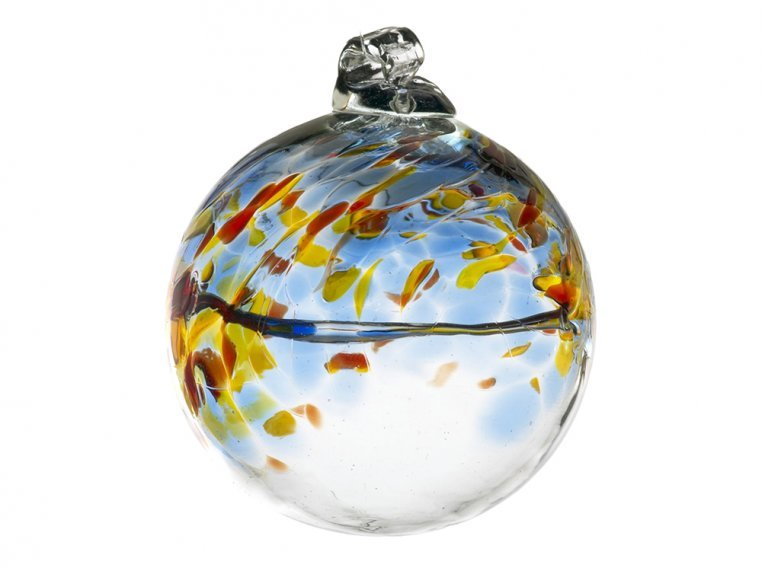 Birthstone Ornament by Kitras Art Glass - 16