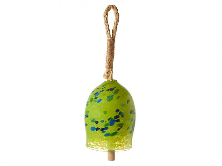 Positivity Bell by Kitras Art Glass - 8