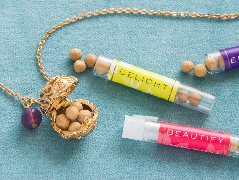 Fragrance Necklace by Lisa Hoffman - 1