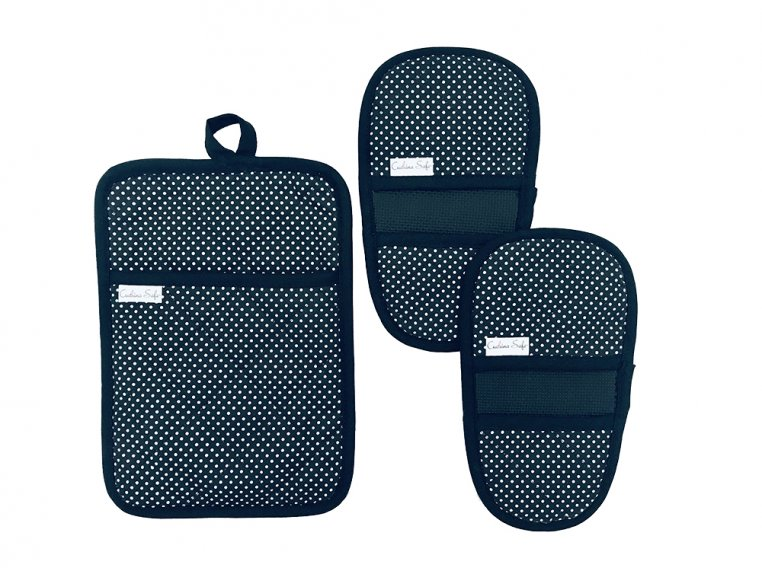 Mini Mitt & Pot Holder Set by Cuchina Safe - 7