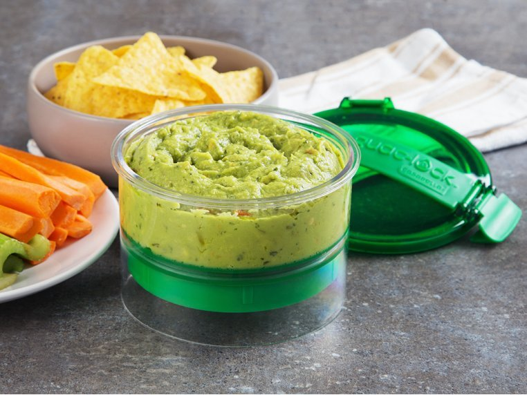 Guacamole Container By Guac Lock The Grommet
